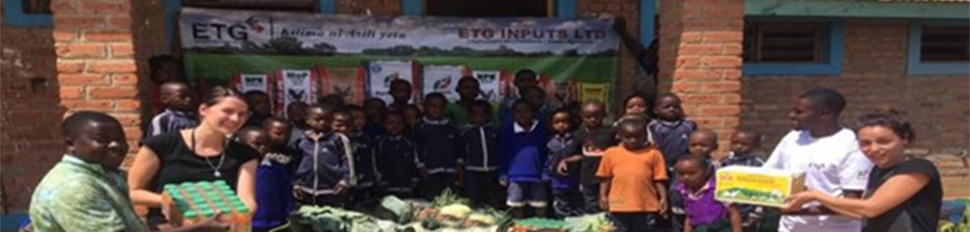 ETG donates harvest from demonstration farms in Tanzania